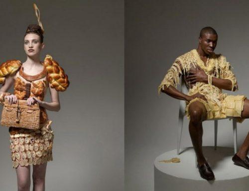 အစားအစာအစစ်တွေနဲ့ အဝတ်အစားအဖြစ် တီထွင်ဖန်တီးမှုလက်ရာများ