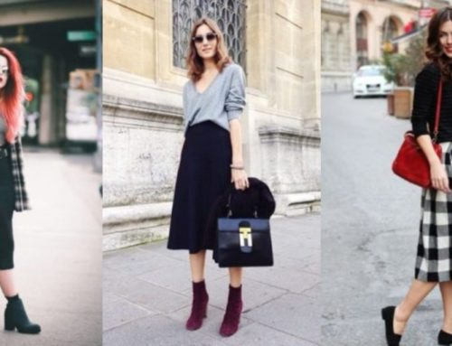 Midi စကပ်လေးတွေကို ဖက်ရှင်ကျကျ ဝတ်ဆင်နိုင်မယ့်နည်းလမ်းများ