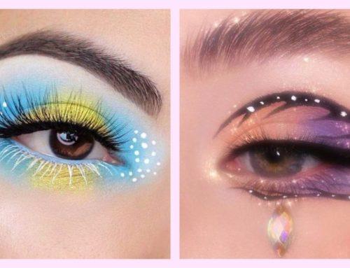 မျက်လုံးအလှကို Creativeဆန်ဆန်ပုံဖော်ကြည့်မယ်