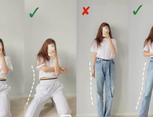 ခန္ဓာကိုယ်ကောက်ကြောင်းပေါ်အောင် Pose ဘယ်လိုပေးမလဲ