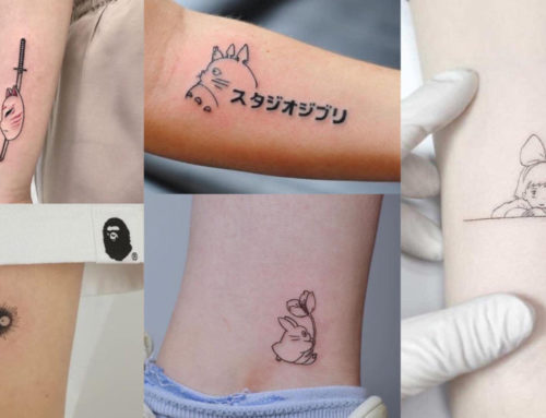 Anime Fan တွေအကြိုက်တွေ့မယ့် ချစ်ဖို့ကောင်းတဲ့ Mini Tattoo ဒီဇိုင်းများ