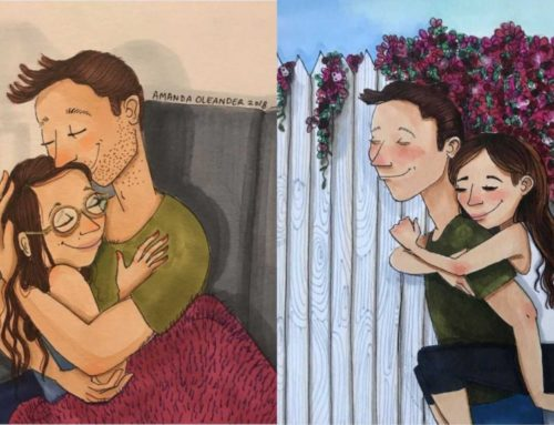 ပြီးပြည့်စုံတဲ့ ချစ်သူနှစ်ဦးကြားက ဆက်ဆံရေးကို ထင်ဟပ်ပြသနေတဲ့ပုံရိပ်လေးတွေ