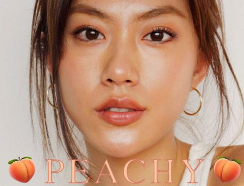 အသားလတ်တဲ့သူတွေနဲ့လိုက်ဖက်တဲ့ Peach Makeup Look ပြင်နည်း