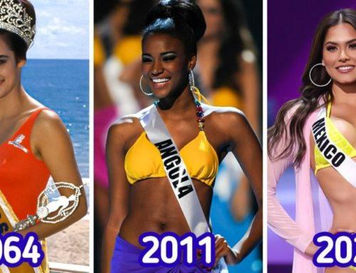 အလှအပစံနှုန်းတွေ တစ်နှစ်နဲ့ တစ်နှစ် မတူတော့ကြောင်းသက်သေပြနေတဲ့ Miss Universe အလှမယ်တွေရဲ့ ပုံရိပ်များ