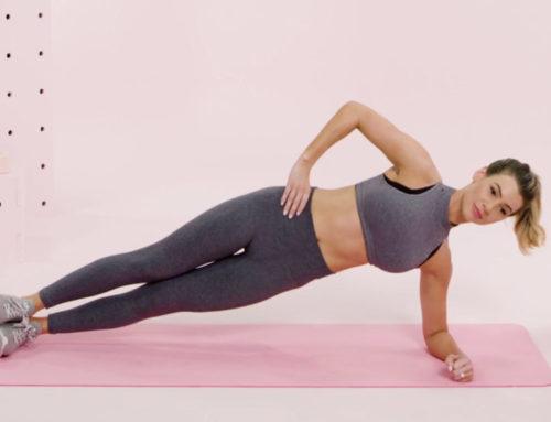 ဗိုက်ချပ်စေဖို့အတွက်ထိရောက်တဲ့ ၅ မိနစ်စာ Plank ထောက်နည်း ၄ မျိုး