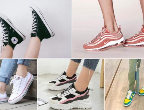 မိန်းကလေးတိုင်းအတွက် 2021 မှာ Trend ဖြစ်နေတဲ့ Sneakers များ