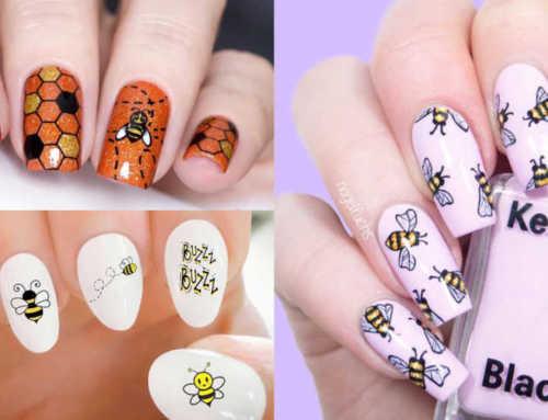 ချစ်စရာကောင်းတဲ့ Bee Nail Designs (၁၀) မျိုး