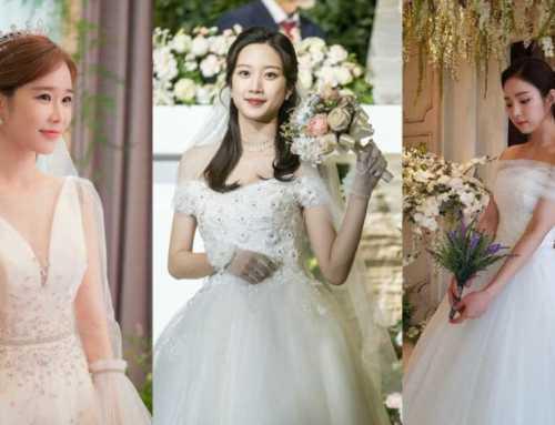 သတို့သမီးဝတ်စုံနဲ့ တမျိုးတဖုံ လှနေကြတဲ့ တောင်ကိုရီးယားမင်းသမီးချောများ