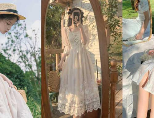 Cottagecore Fashion ကို သဘောကျတဲ့ပျိုမေတို့အတွက် အမြင်အေးစေမယ့် ဖက်ရှင်များ