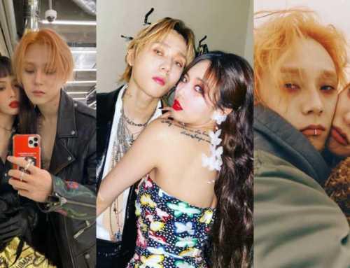 တောင်ကိုရီးယားနိုင်ငံက မနဲ့မောင် Idol စုံတွဲ HyunA နဲ့ E' Dawn တို့ရဲ့ ပုံရိပ်များ