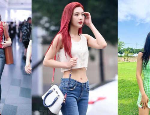 ခါးသေးသေးလေးနဲ့ဘာဝတ်ဝတ်လှတဲ့Joy(Red Velvet)ရဲ့ဖက်ရှင်များ