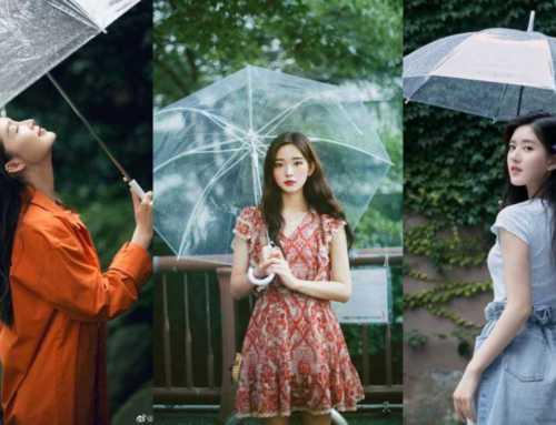မိုးရာသီမှာ ထီးအကြည်ရောင်လေးနဲ့ အလှဆုံးပို့စ်လေးတွေပေးကြမယ်