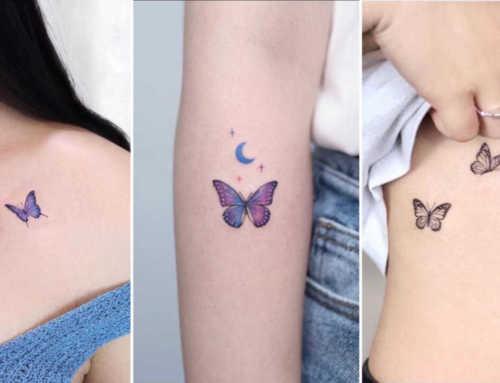ကောင်မလေးတွေအကြိုက်တွေ့မယ့် Butterfly တက်တူးဒီဇိုင်းများ
