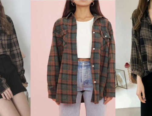 ယောကျာ်းဆန်တဲ့ ရှပ်အင်္ကျီအကွက် အပွ Flannel Shirt တွေကို ပုံစံအမျိုးမျိုး ဝတ်ဆင်နည်း