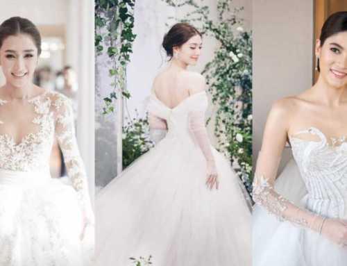 အိမ်ထောင်ပြုသွားပြီဖြစ်တဲ့ ထိုင်းမင်းသမီးချောတွေရဲ့ ကြည်နူးစရာ မင်္ဂလာဆောင်ပုံရိပ်များ